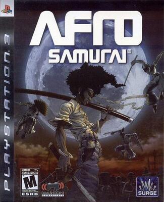 PS3 AFRO SAMURAI (BOX ONLY) (usagé)