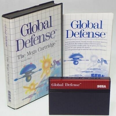 GLOBAL DEFENSE (COMPLETE IN BOX)