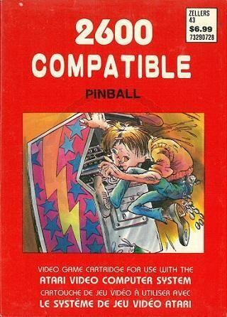 ATARI 2600 PINBALL (usagé)