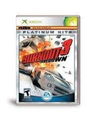 BURNOUT 3 TAKEDOWN PLATINUM HITS (COMPLETE IN BOX)