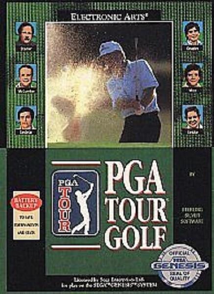 PGA TOUR GOLF (COMPLETE IN BOX)