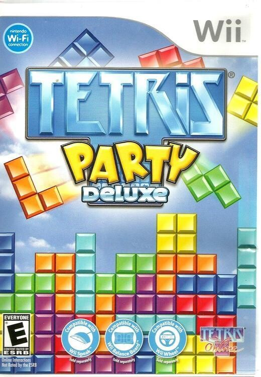 TETRIS PARTY DELUXE (COMPLETE IN BOX) (usagé)