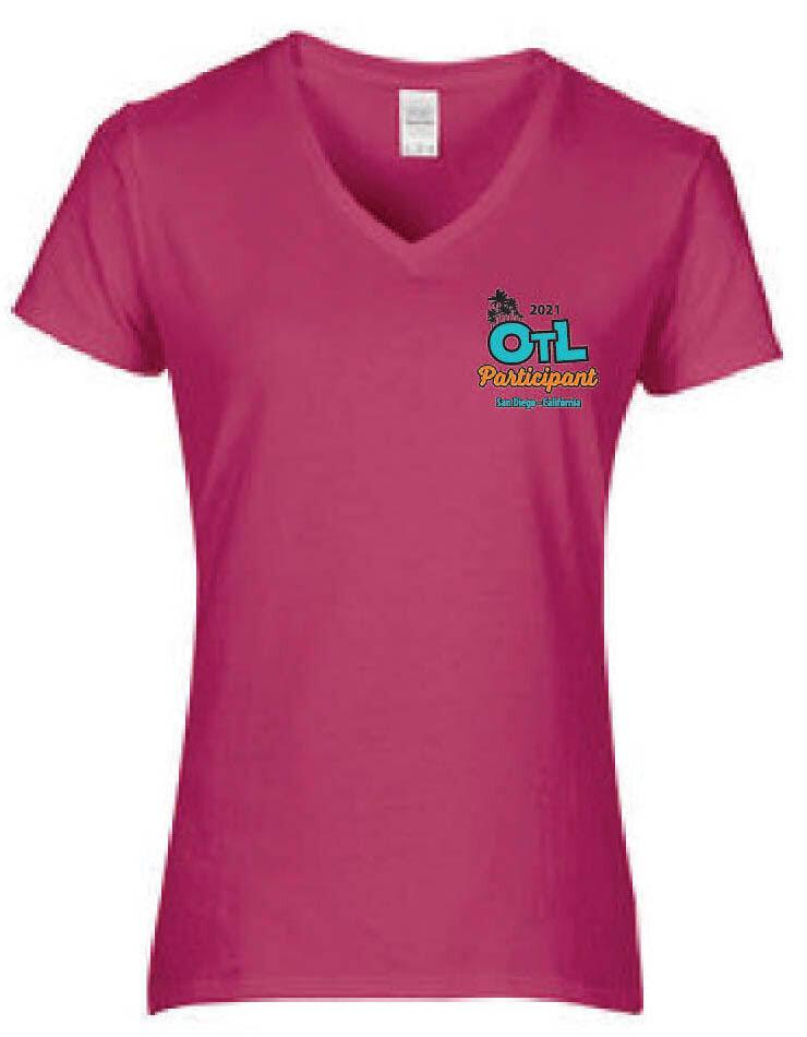 Ladies 2021 OTL V-Neck Short Sleeve Shirt