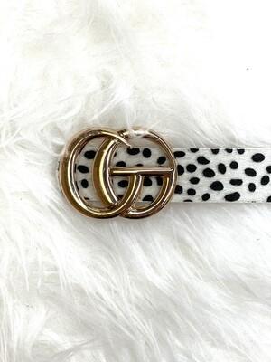 Fur Gucci Inspired Belt