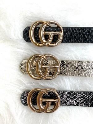 Mini Gucci Inspired Belt