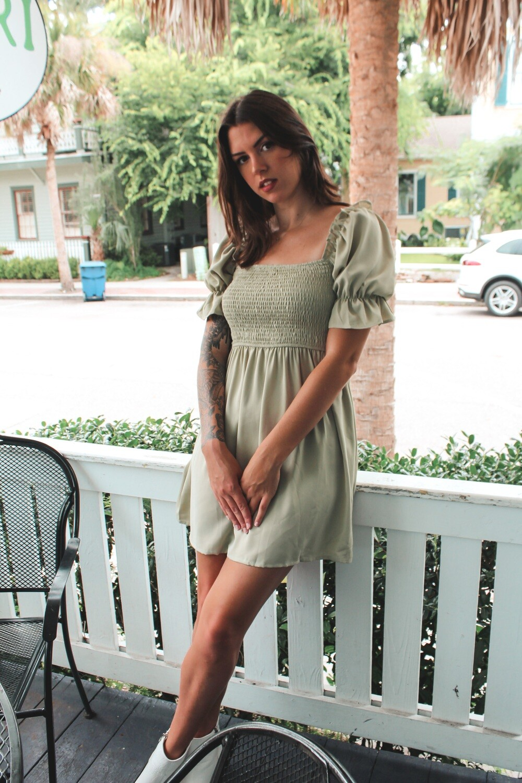 Butterfly Garden Dress