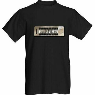 T-Shirt -  Black - Men - Original Code 18 logo