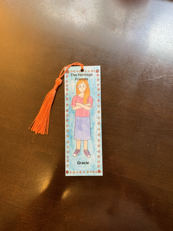 Children's Bookmark, Gracie