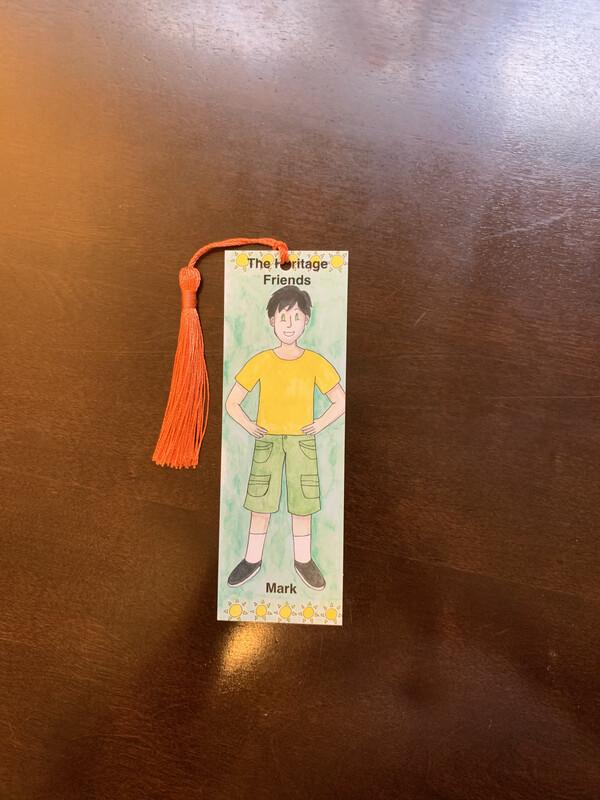 Children's Bookmark, Mark