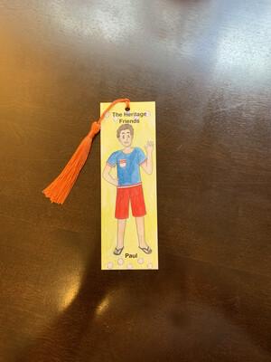 Children's Bookmark, Paul