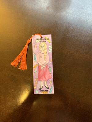 Children's Bookmark, Hannah