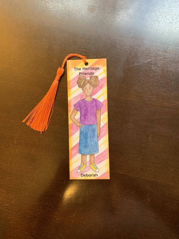 Children's Bookmark, Deborah