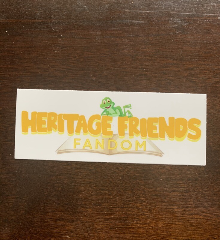Heritage Friends Logo Sticker