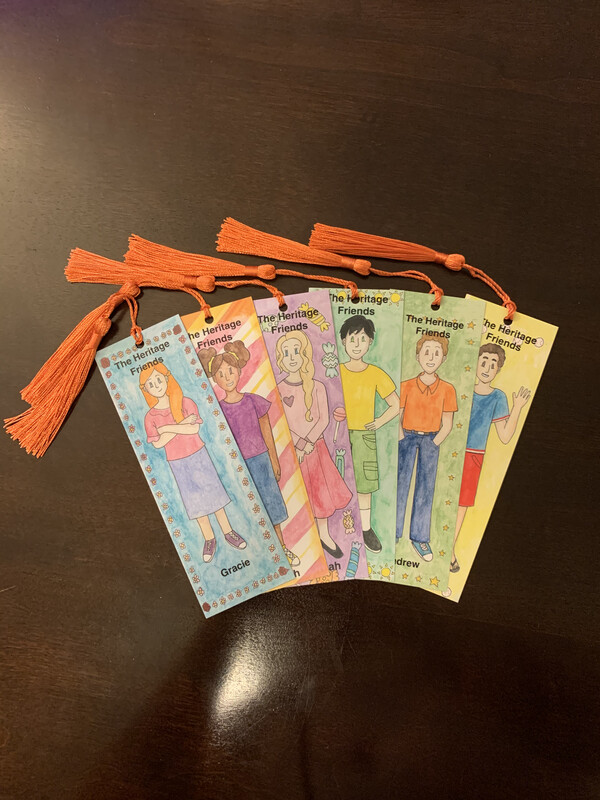 Heritage Friends Bookmark Collection