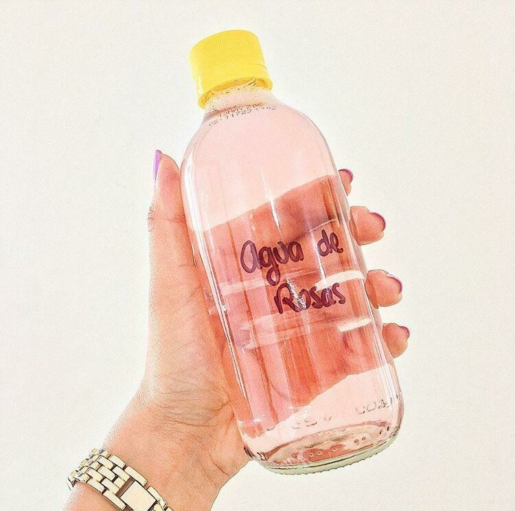 Agua de rosas refill