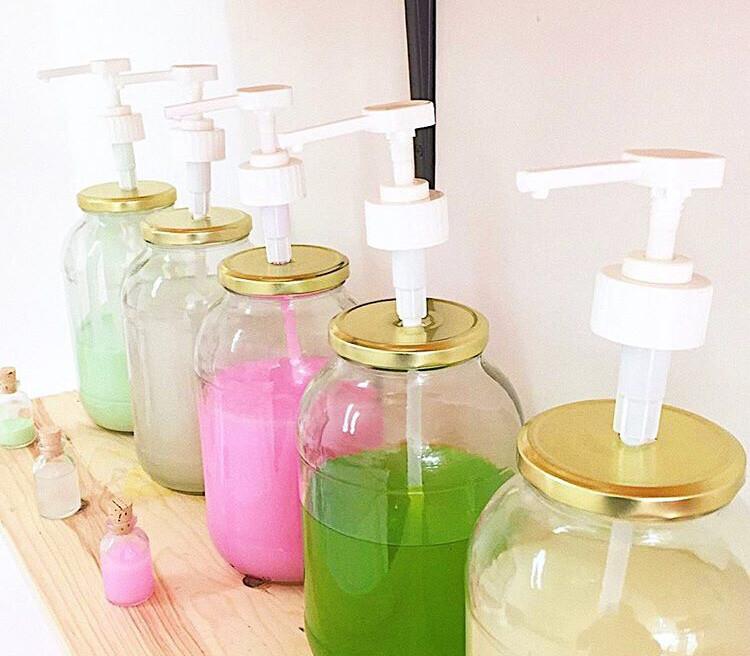 Shampoo liquido de sábila