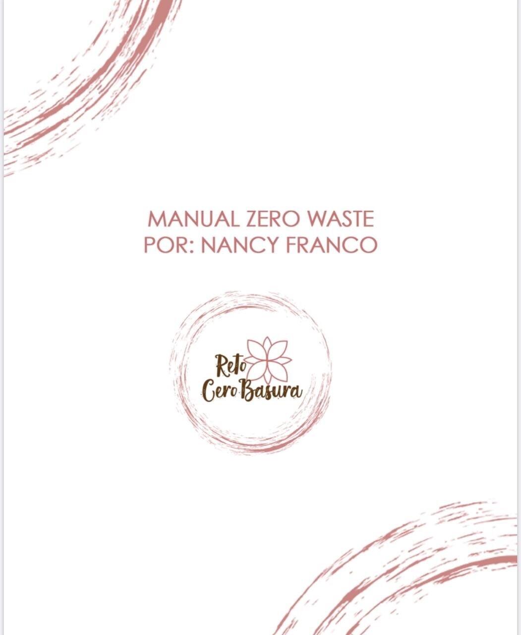 Manual Zero Waste por Nancy Franco