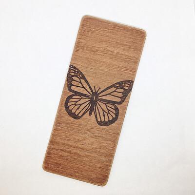 Separador de madera Mariposa