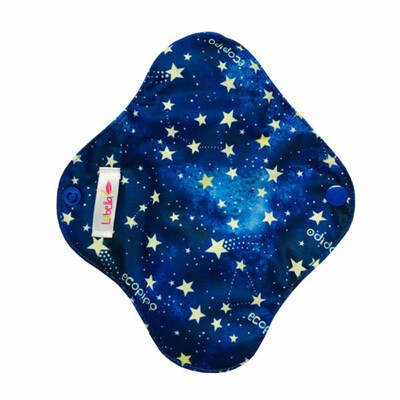 Pantiprotector de tela estrellas