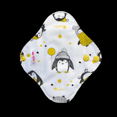 Pantiprotector de tela pingüinos