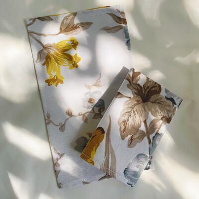 Servilleta de tela Flores