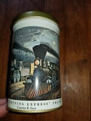 Vintage American Railway Scenes, Currier & Ives, Candle