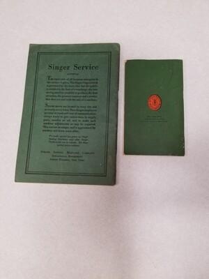 #1-1262 Vintage Singer Manuals - 2