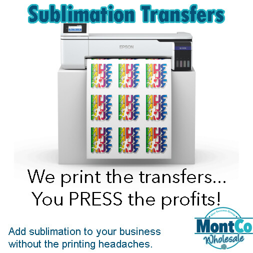 Sublimation Transfer Prints