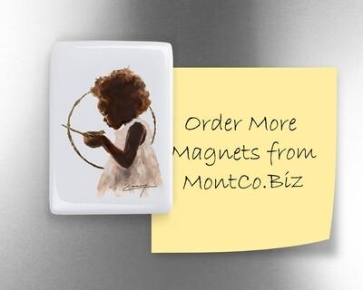 """Ceramic Fridge Magnet - 2"""" x 2.75"""""""