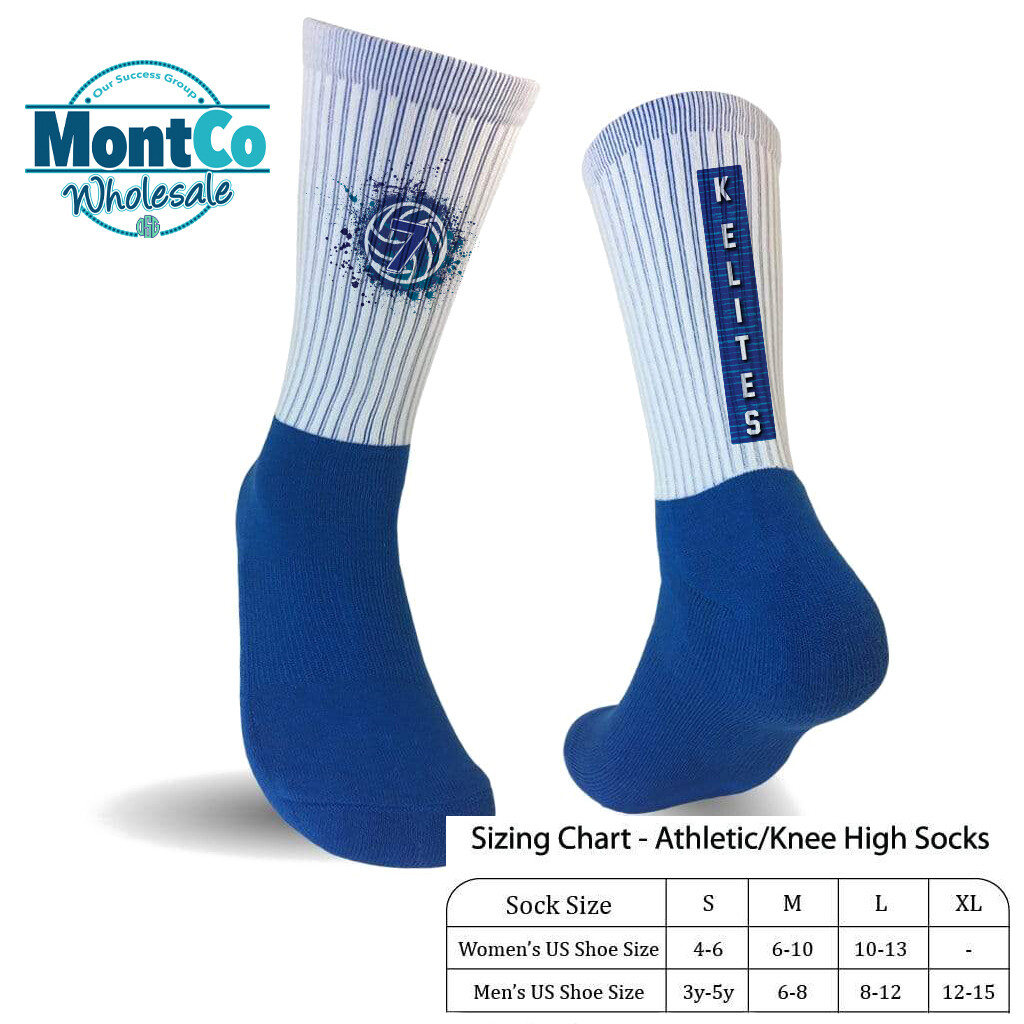 K-Elites Custom / Personalized Athletic Sock