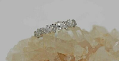 wg .45cttw diamond wave ring