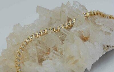 14ky 2cttw diamond tennis bracelet