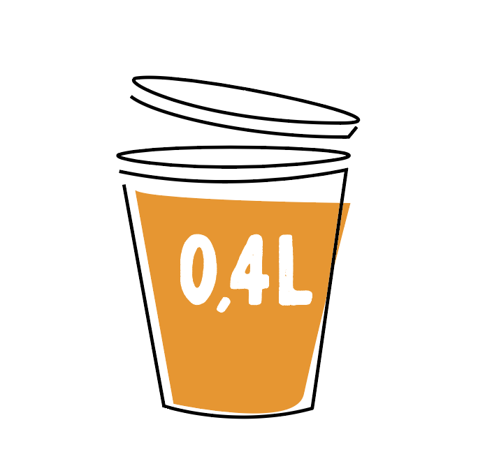Wortel-Gembersoep 0,4l