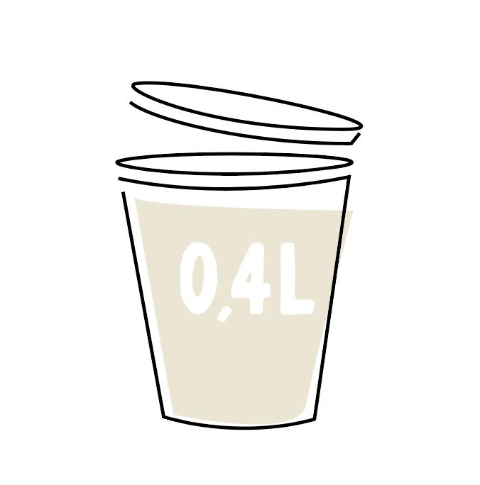Bloemkoolcrème 0,4l