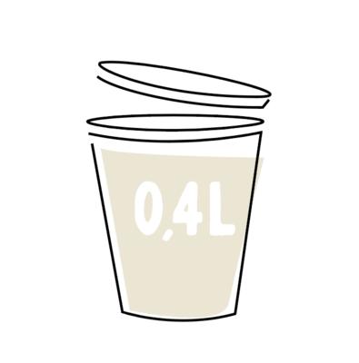 Romige Witte-Koolsoep 0,4l
