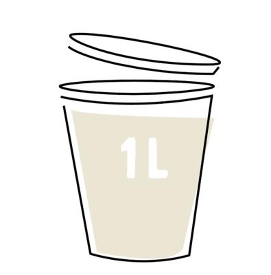 Romige Witte-Koolsoep 1l