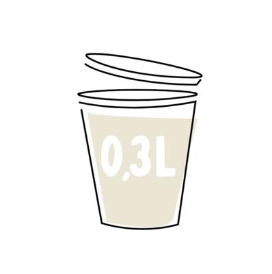 Romige Witte-Koolsoep 0,3l