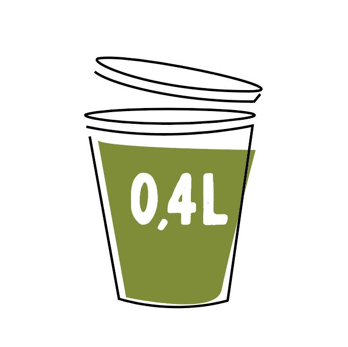 Courgettensoep met Pesto 0,4l