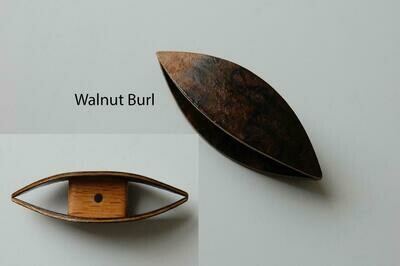 Large Tatting Shuttle Walnut Burl