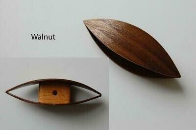 Large Tatting Shuttle Walnut