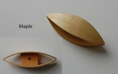 Large Tatting Shuttle Maple