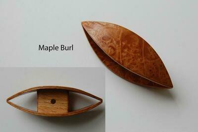 Large Tatting Shuttle Maple Burl
