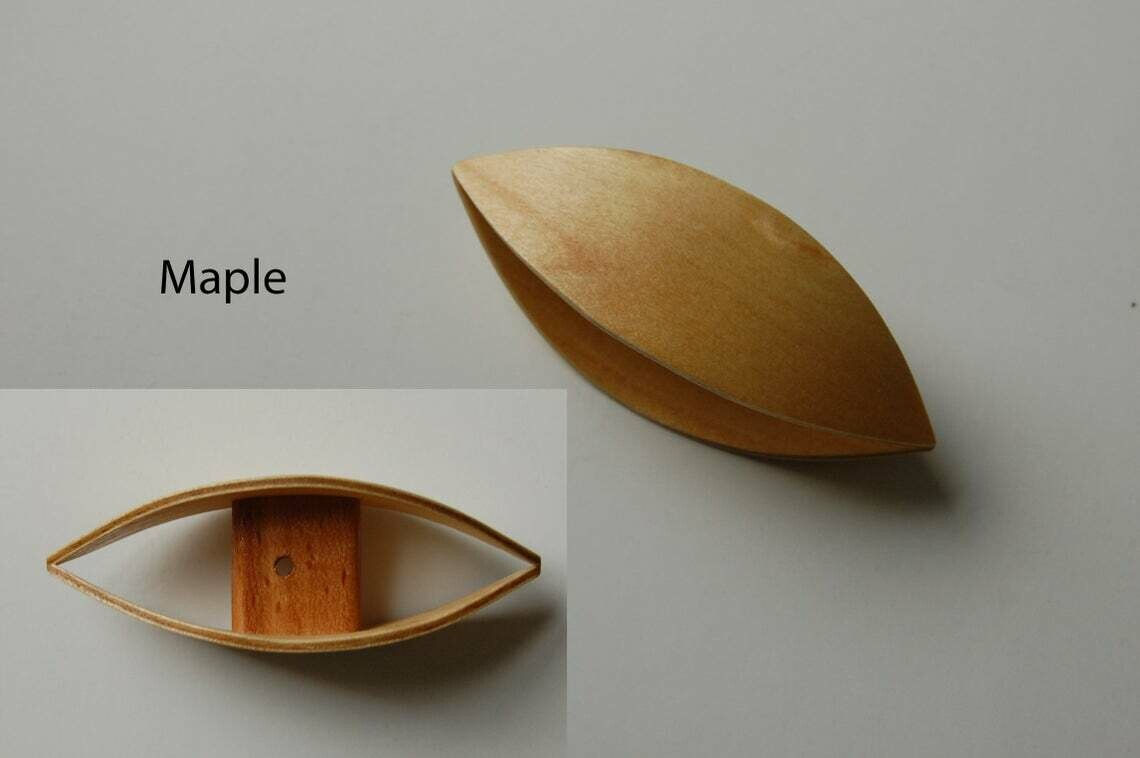 Very Large Tatting Shuttle Maple