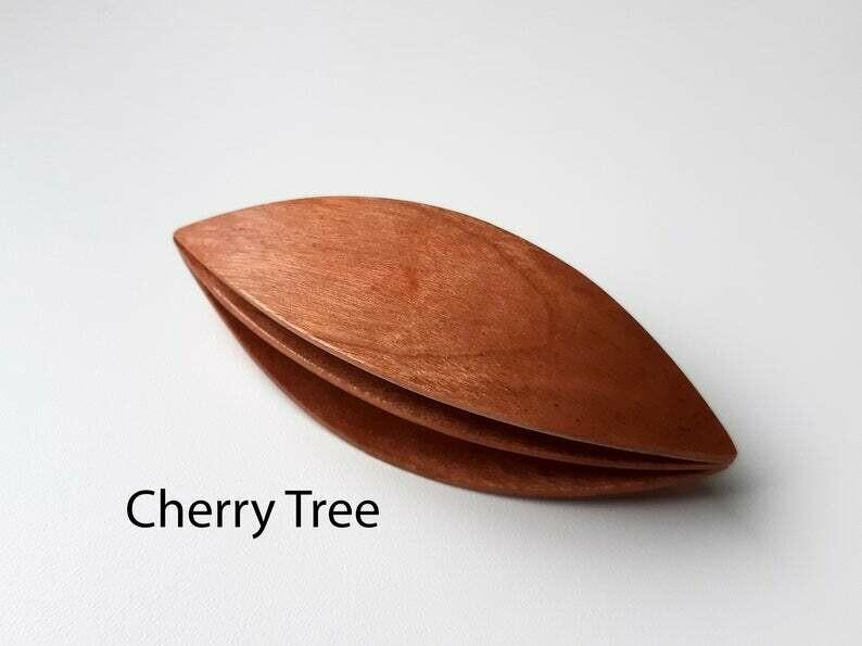 Double Decker Tatting Shuttle Cherry Tree