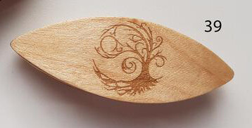 Tatting Shuttle With Engraving #39