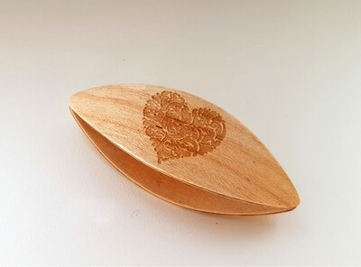 Tatting Shuttle Maple With Engraving