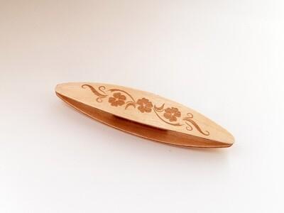 Beanile Tatting Shuttle Maple Engraved
