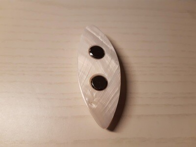 Shell Tatting Shuttle Mother-of-Pearl