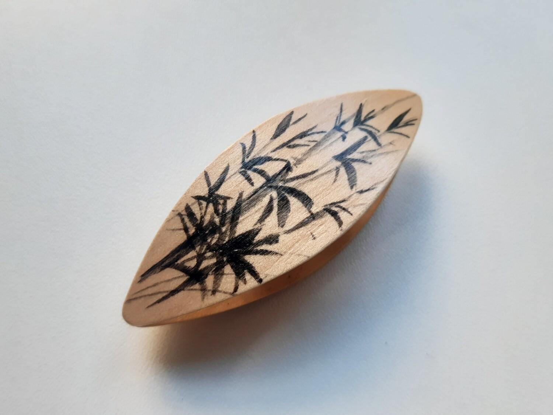 Tatting Shuttle Maple Painted