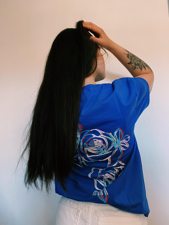 "T-shirt ""Roses"""